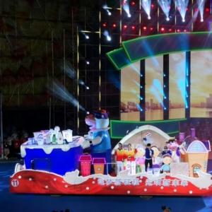 美好光明,共享欢乐 光明乳业倾情参与上海旅游节花车巡游